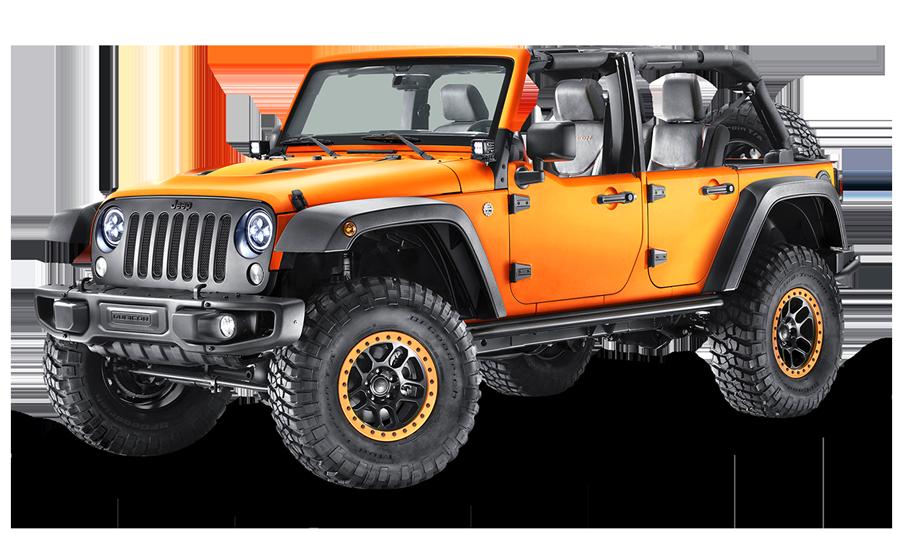 Jeep-bil